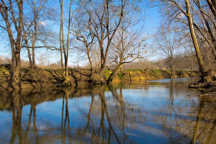 Floyds Fork, along the Seaton Valley Trail