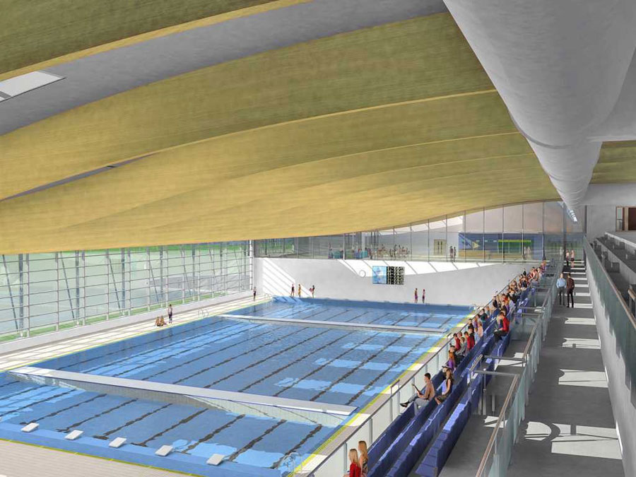 Can t keep water from leaking into the news this time it - How many olympic sized swimming pools in uk ...