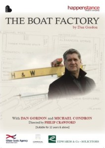 The Boat Factory, play by Dan Gordon, produced by Happenstance Theatre Company