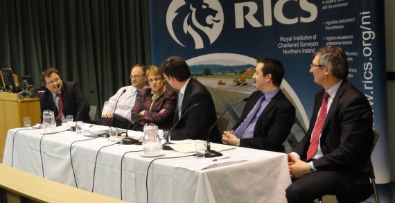 Panel at RICS economic hustings