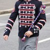 Young Blood and Thunder Drum Major on parade