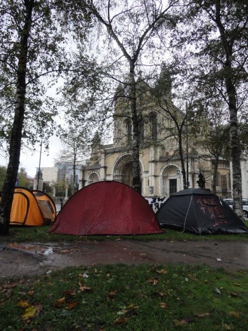 Occupy Belfast Writers Square