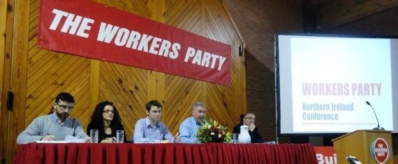 Platform party at Workers Party northern conference 2011