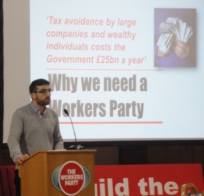 Ciaran McGeough answering Why We Need A Workers Party