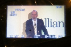 Party leader David Ford addressing Alliance Conference 2012