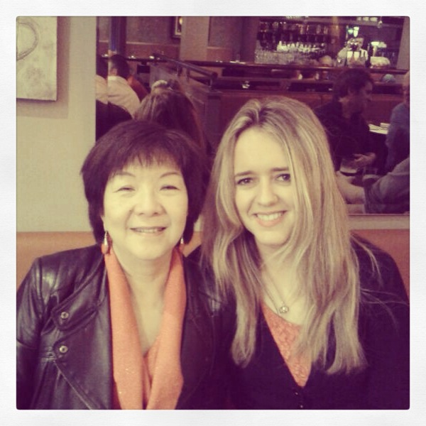 Kate with Alliance Party MLA for South Belfast, Anna Lo