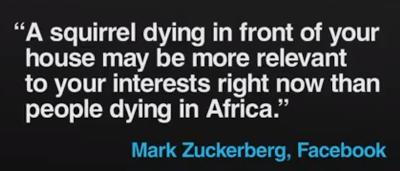 Facebook filter bubble