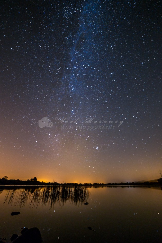 Moor Lough Milky Way.