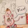 Sammy Wilson cartoon, Brian John Spencer