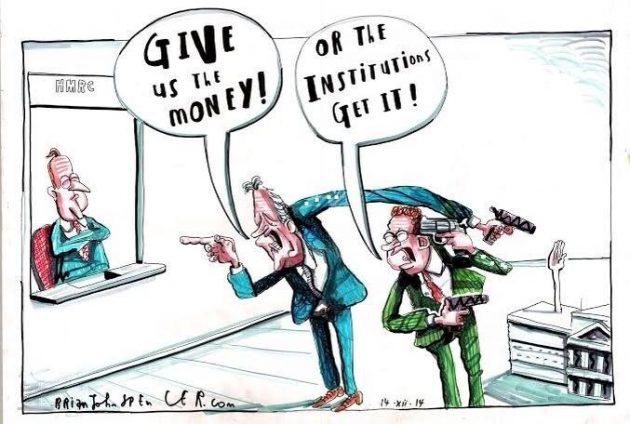 Peter Robinson, Martin McGuinness cartoon, Brian John Spencer