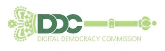 Digital Democracy Commission logo