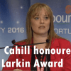 Mairia Cahill honoured with James Larkin award