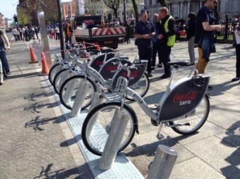 Belfast Bikes bike rack