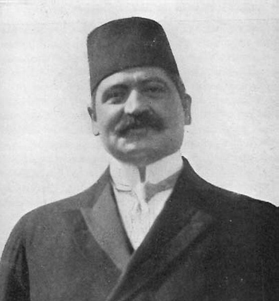 Mohammed Talaat Pasha (1874-1921)