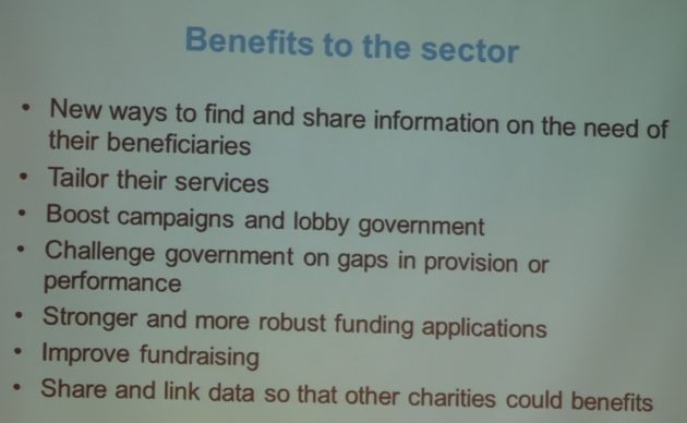 Benefits to sector