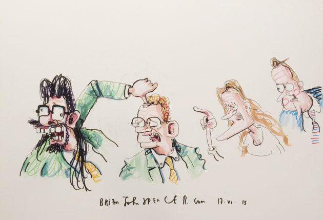 Gerry Adams cartoons