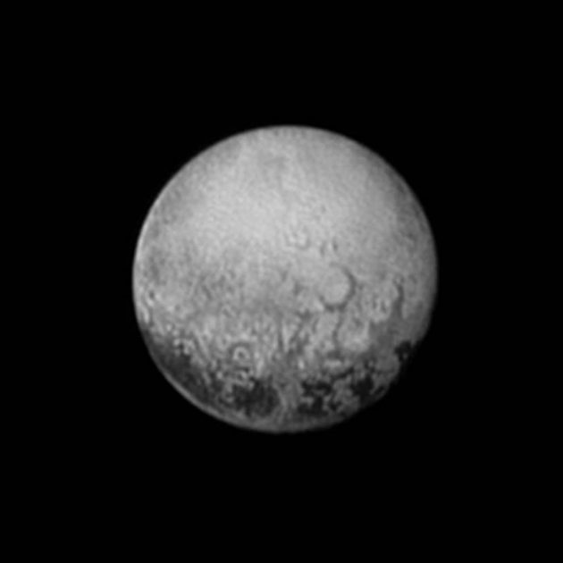 New Horizons Pluto 11 July 2015