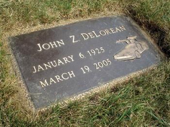Delorean tombstone