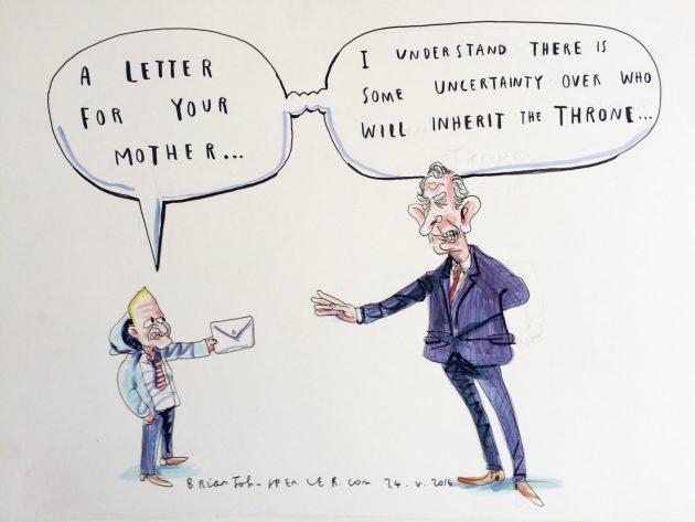 Jamie Bryson cartoon