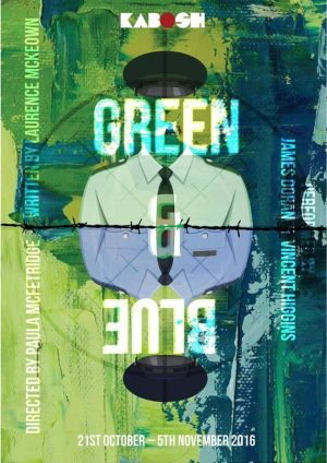 green-and-blue-poster