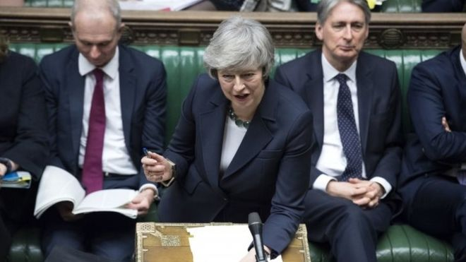 Theresa May suffers another humiliating Commons defeat