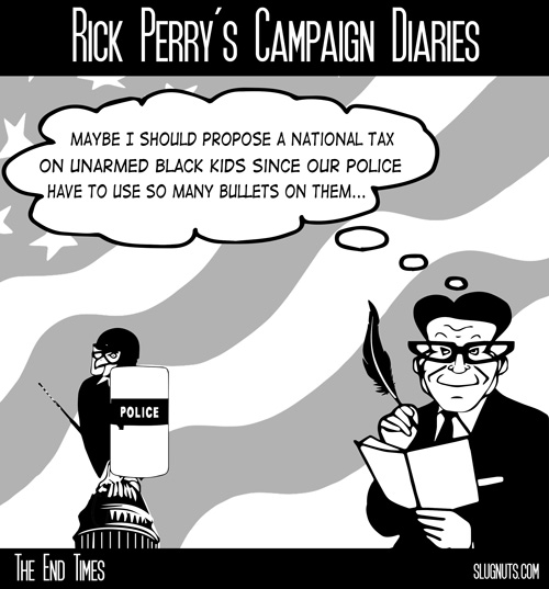 Rick Perry's Campaign Diaries #3