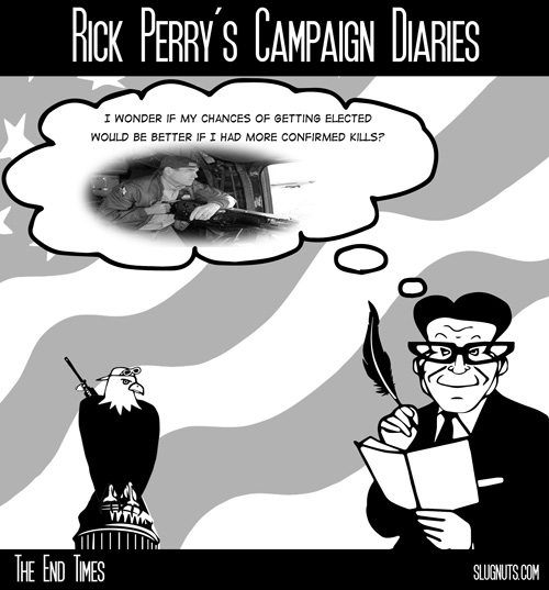 Rick Perry's Campaign Diaries #1