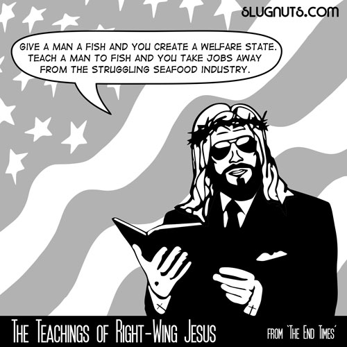 The Teachings of Right-Wing Jesus #1