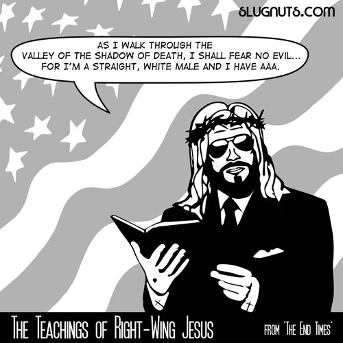 The Teachings of Right-Wing Jesus #3