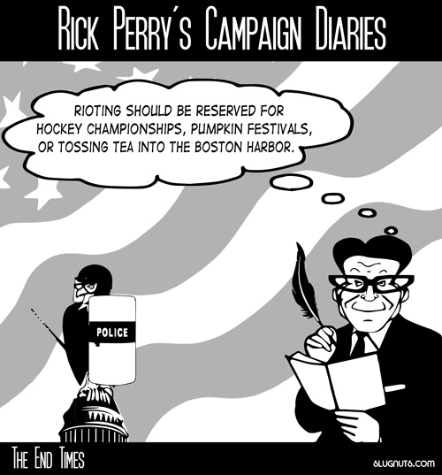 Rick Perry's Campaign Diaries #4