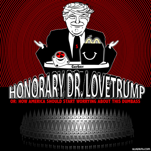 Honorary Dr. Lovetrump Poster