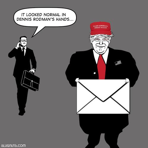 trump's letter