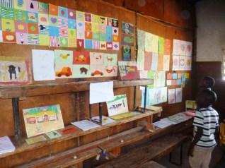 Kids Club Exhibition at Slum Sanaa Mini Festival
