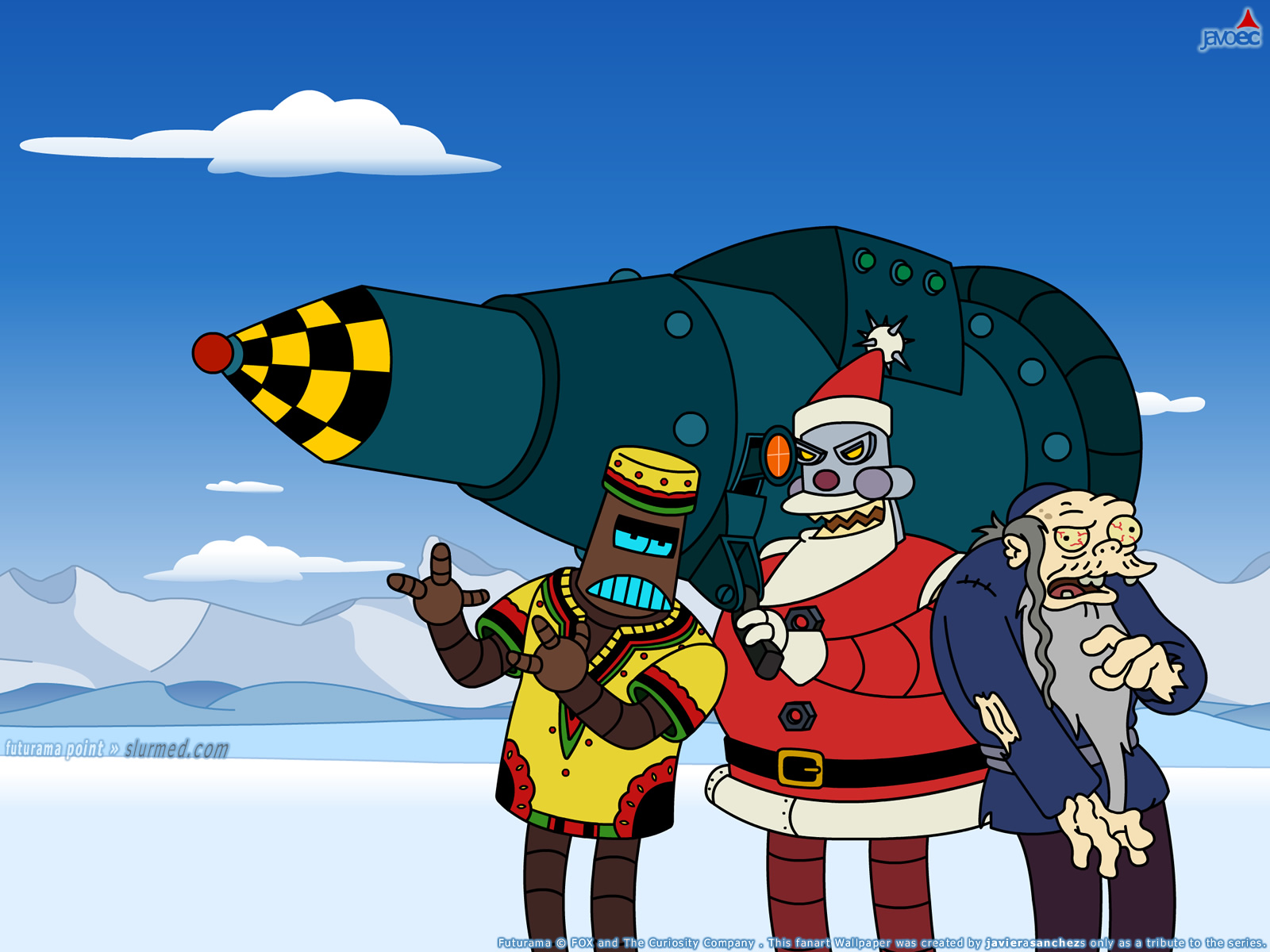 The Final Futurama Christmas Episode Isn't As Entertaining As The Previous  Two, Its Split In To Parts To Tell The Story Of Different Holidays And How  The