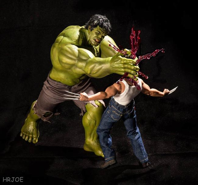 hulk smash wolverine