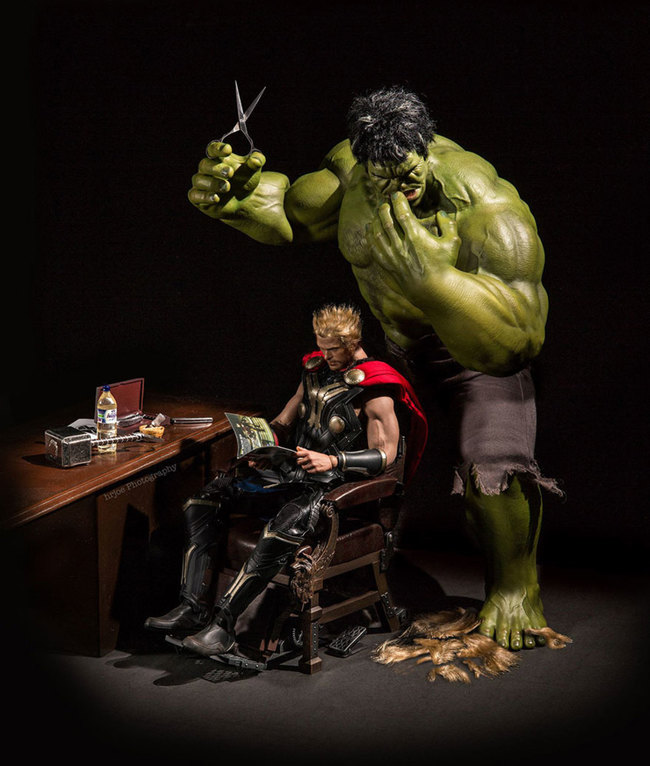 thor hulk haircut