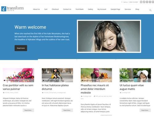 i-transform portfolio responsive wp theme 2015