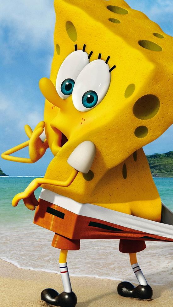 funny spongebob squarepants iphone wallpaper
