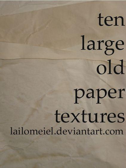 old paper textures II
