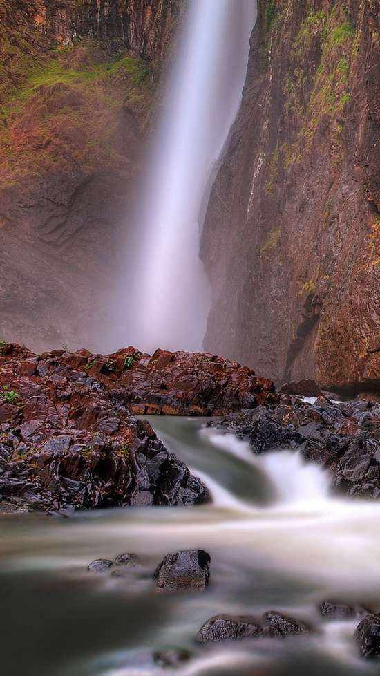 queensland australia falls national park iphone 6 wallpaper