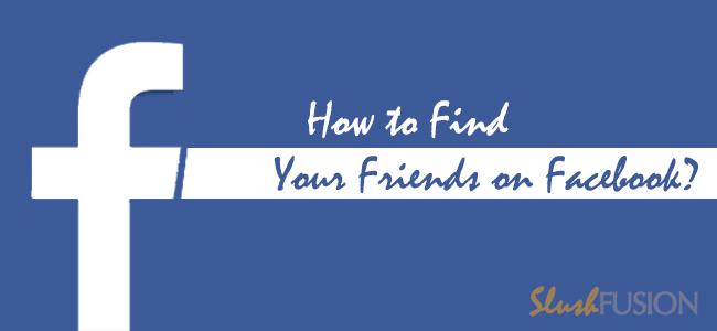 find your friends on facebook