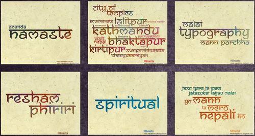 ananda namaste font