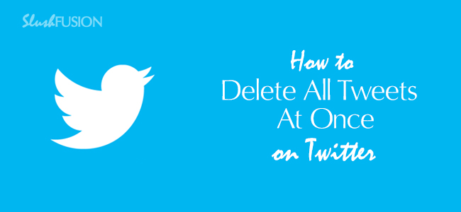 delete all tweets on twitter