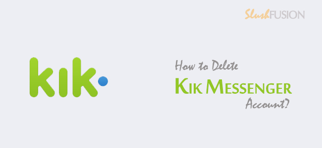 how to delete kik account