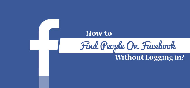 find search people on facebook without logging in