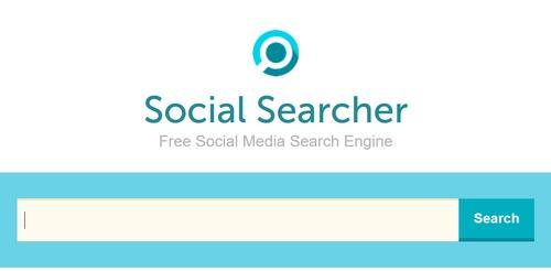 social searcher for facebook