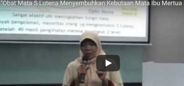 Video Testimoni S Lutena Mata Buta