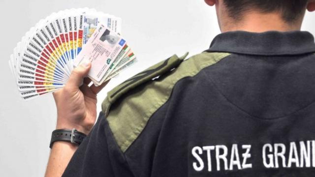 Na granicy wpadł Ukrainiec z 25 dowodami osobistymi