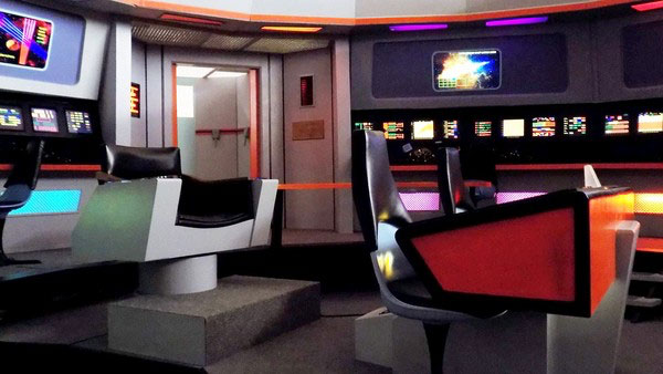 Star Trek's NCC 1701 USS Starship Enterprise's Bridge
