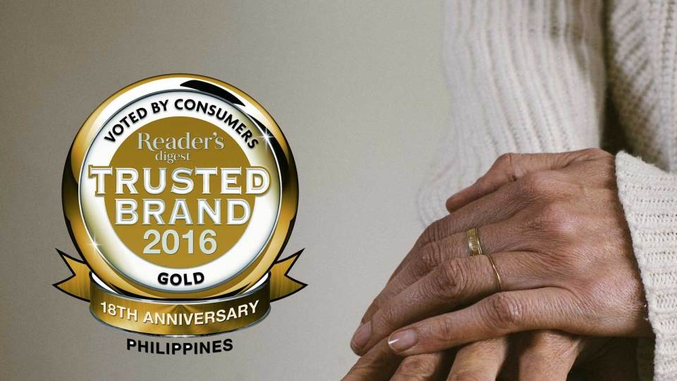 Reader's Digest Trusted Brand 2016
